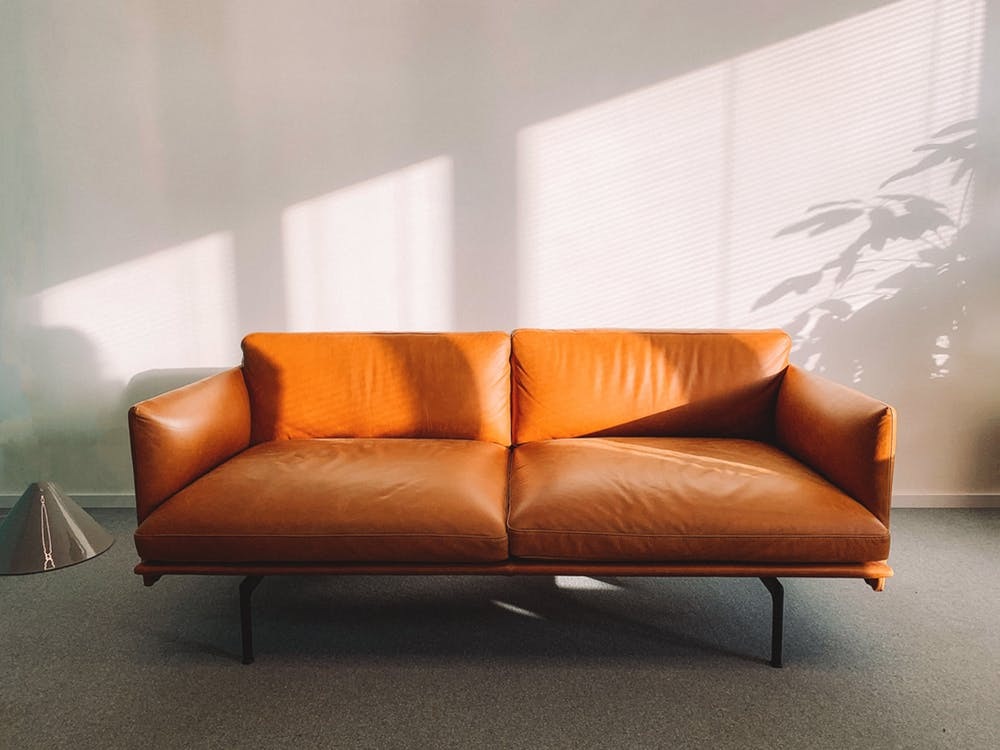 leather lounges made from Melbourne